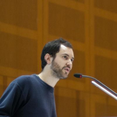Moritz Michelson Moderation Vollversammlung Studierende FAU